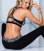 Candice is a Hot Yoga Model
