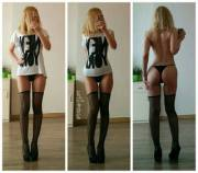 My slutty fishnets [ОС]