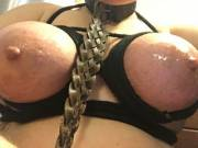 A fucktoy is only happy while being used hard by her Master [F]