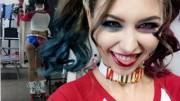 Riley Reid shows off her costume
