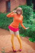 Kayla Erin as Velma Dinkley in Scooby-Doo