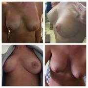 Boob Collage - my wife (40+)