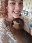 I held baby otters & had the best day ever!