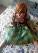 Princess Anna Photoshoot with Daddy