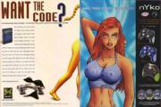 /u/Kojack_Hunter reminded me how NSFW video game ads were. Remember our hunt for the nude Lara Croft code?