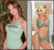 Nicolette Shea before and after