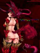 Color Focus RED by Slugbox (female)