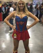 Supergirl at a Convention