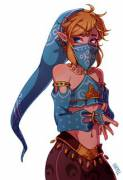 Album of Gerudo Link from Zelda: BotW