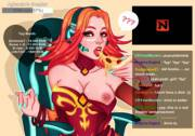Lina's hot stream