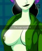 Shego takes a selfie (mckraken) [Kim Possible]