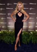 Charlotte McKinney Black Dress