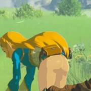 [Zelda] [BOTW] Better things to do than pick flowers...