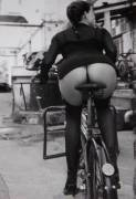 Vintage Ass and Bicycle