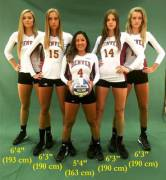 Denver's Volleyball team