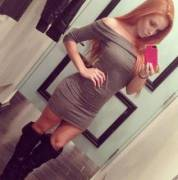 Sexy Redhead Selfie... In Boots! [X-Post /r/ginger]