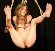 Suspended pussy is the best pussy