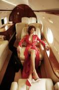 The Mile High Club is a pretty elegant perversion. [x-post /r/redlingerie]