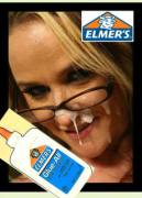 elmers glue accident (nsfw)