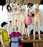 Shopping for slaves in Rome