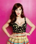 I want to face fuck Zooey Deschanel.