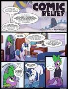 Comic Relief by Braeburned