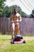 Nude lawn service now available