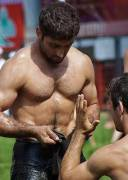 Turkish Oil Wrestlers..........all of them