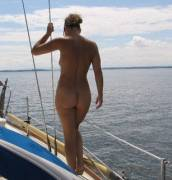 More sailing with Olive (NSFW)