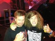 Blake from Workaholics wearing a Trash Talk shirt.