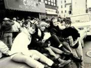Hanging out front of CBs 1988