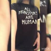 All monsters are human titty drop
