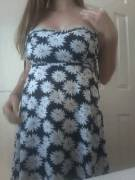 Tits to die for bursting out of a sundress