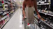The perfect dress for grocery shopping