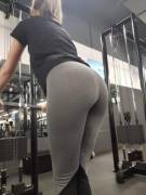 Would you look at my ass at the gym? [F] [OC]