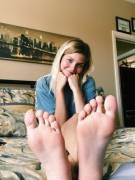 Anyone want to touch my soft soles?
