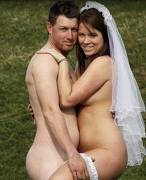 Nudist wedding