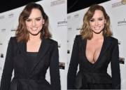 Daisy Ridley shows symptoms of Bimbo Virus