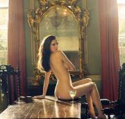 Eva Green nude for Tatler magazine