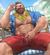 Pool Party Gangplank by DoPq