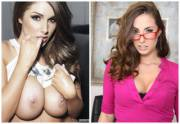 Lucy Pinder and Paige Turnah