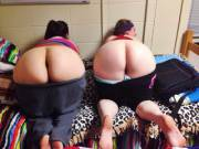 Two butts in the dorm