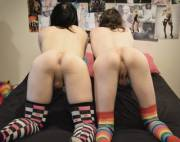 Two sissies ready to recieve
