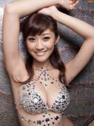 Mikie Hara wearing a gorgeous smile