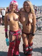Burning Man Babes