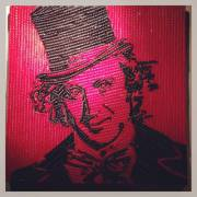 Someone in r/food suggested I post my candy Wonka pic here. Wilder portrait made with Twizzlers. Hope you like it!