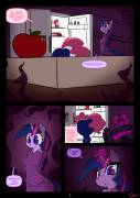 Night Mares - Twilight Sparkle x Pinkie Pie [anthro futa rape] (artist:slypon)