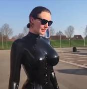[Request Fulfilled] Slo-mo in Sunglasses and Latex