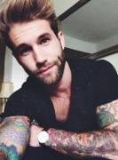 He has the Hair, the Eyes, the Beard and the Tatts!