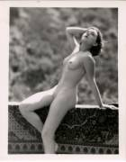 Edwin Bower Hesser - Nude Out Doors - Model unknown